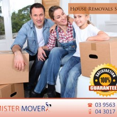 Professional house removals services in Melbourne